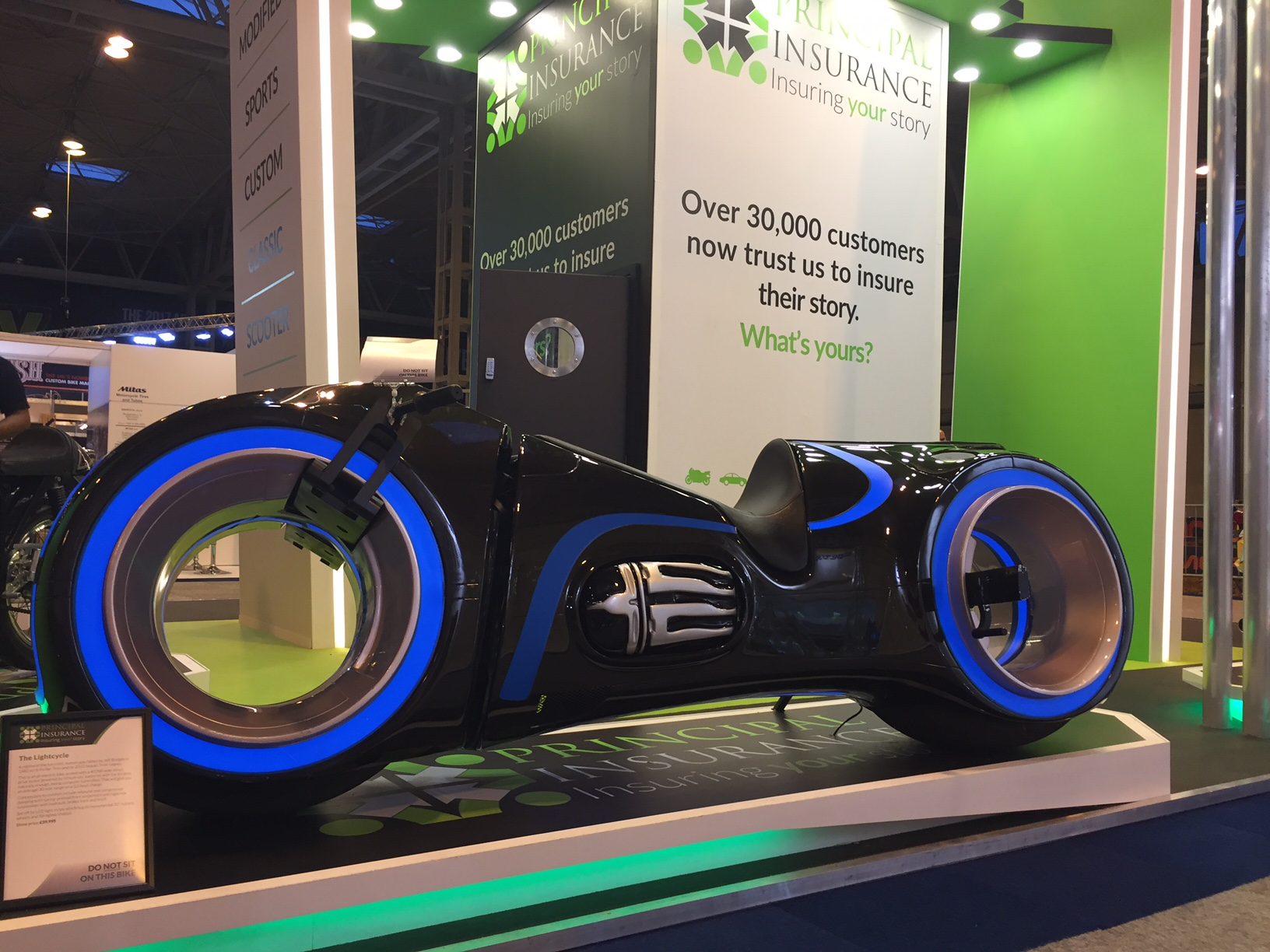2016 news nov nec bike show 5th gen light cycle tron legacy