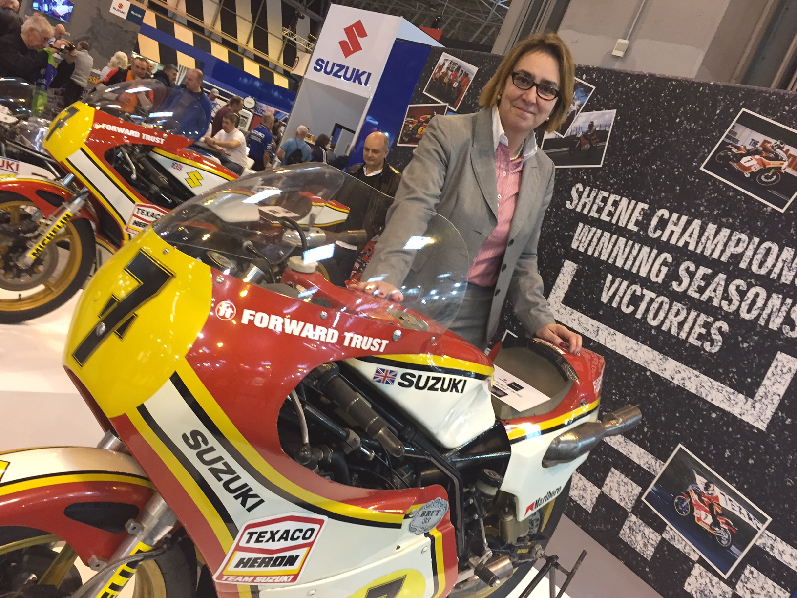 2016 news nov nec bike show sheene no7 worth