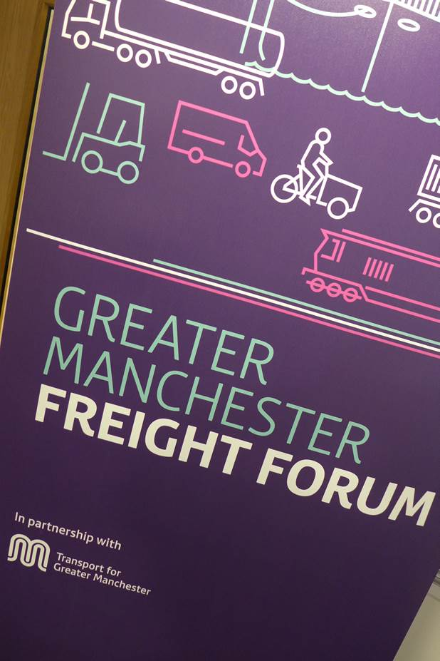 2018 news mar tfgm freight forum poster