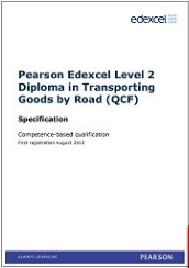 pex l2 transporting goods by road qcf