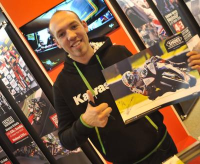 IOC at Motorcycle Live, Motorcycle Show Birmingham NEC