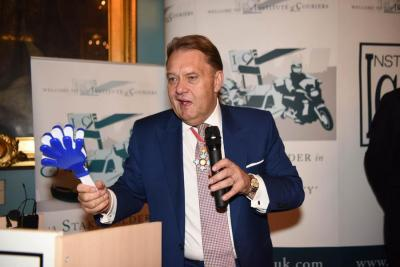 Minister of State for Transport John Hayes MP addresses NCA 2017 at the Institute of Directors