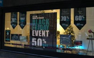 Black Friday – 'e-commerce shift from high street even bigger than expected'