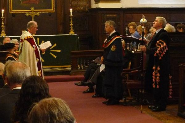 Master Carmen Mark Griffiths installed to office October 20th 2015