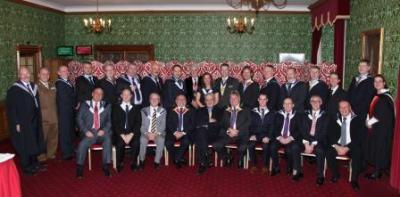 House of Lords New Fellows Gowning 2013