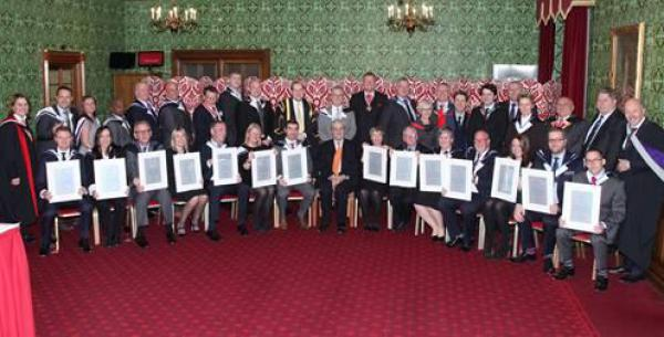 House of Lords New Fellows Gowning 2015