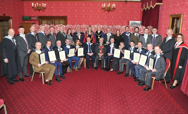 House of Lords New Fellows' Gowning 2017 - hi-res images