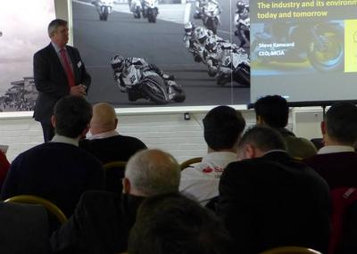 Steve Kenward CEO MCIA at Donnington Industry day