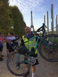 #ioc4transaid IoC Chair completes London-Paris charity cycle ride