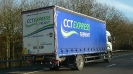 cctexpress freight rigid truck on M1