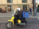 scooter courier budapest