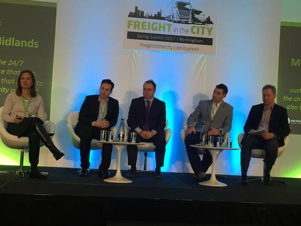 2017 news mar freight in the city panel clarke