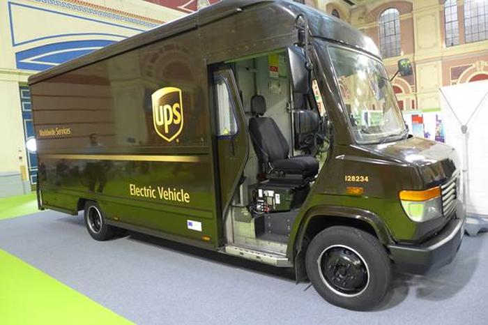 2018 news nov freight in the city ups electric van