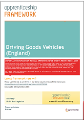 afo driving goods vehicles