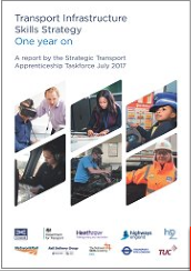 strategic transport apprenticeship taskforce 1 yr on