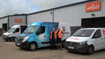 Whistl announce Electromobility -  first UK trial for Renault Master EV