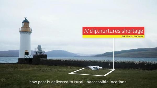 What3Words marks the landing of Royal Mails first-ever drone delivery using a Skyports drone