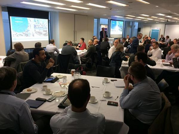Delivering Christmas - TfL quarterly freight forum – 'we need research in van freight'