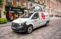 DPD leads the charge - UK's first all-electric Mercedes-Benz eVito vans