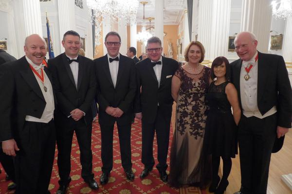 IOC fellows at the Mansion House Transport Banquet March 8th
