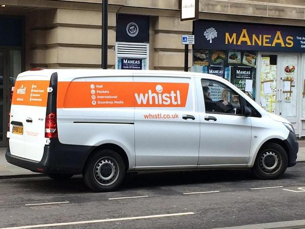 Whistl focus on Nottingham as it accelerates expansion in parcels.