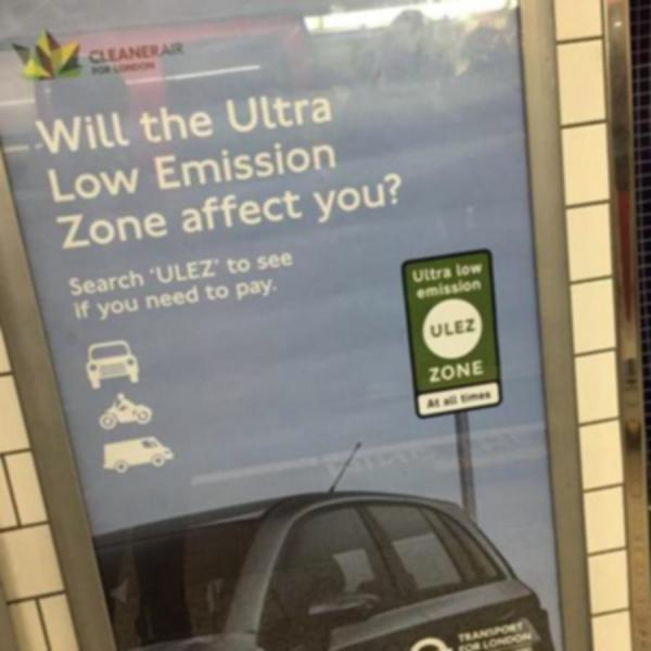 London Ultra Low Emission Zone - ULEZ expansion coming in Oct 2021