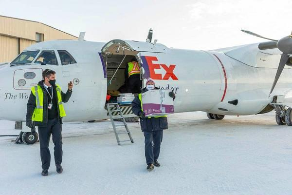 Final mile vaccine delivery - 10,000km in Canada's Northern Territories and Yukon