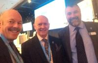 IOC Carl Lomas with Brian Weatherley and FORS Director John Hix