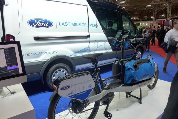 Two wheels make CV Show last-mile moment in exploding world of Express logistics.