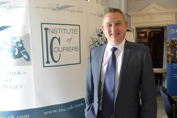 The latest IoC Fellow - Richard England FIOC of The Courier Company Cambridge