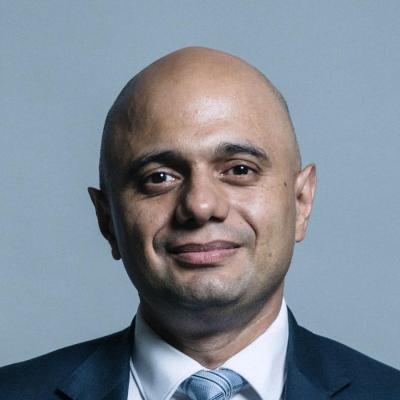 Secretary of State for the Home Department, Rt. Hon. Sajid Javid MP