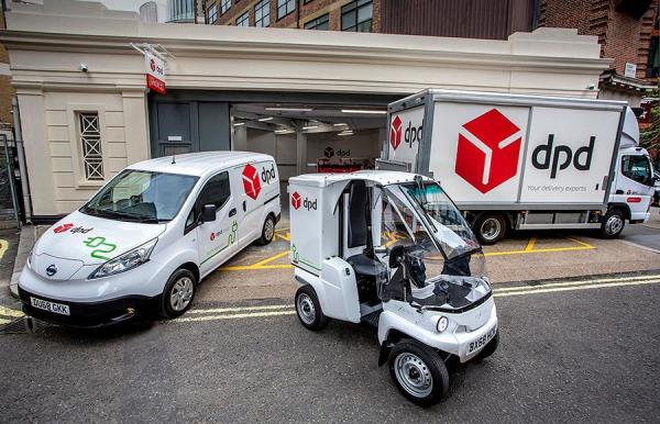 DPDs new all-electric Westminster parcel depot
