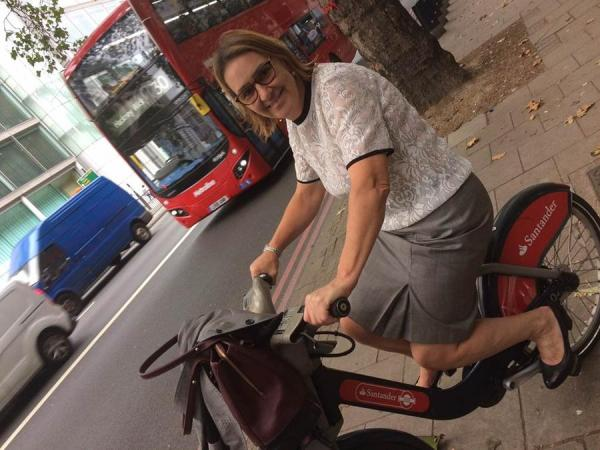 Bus lane access for IOC CEO Tracey Worth in a diversity chase to beat traffic in Central London.
