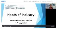 IoC's first COVID-19 Heads of Industry on Zoom