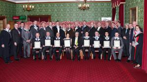 House of Lords New Fellows Gowning 2012