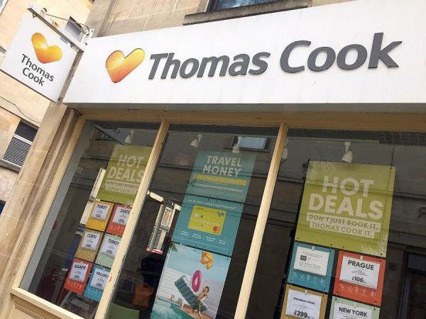 Thomas Cook shopfront