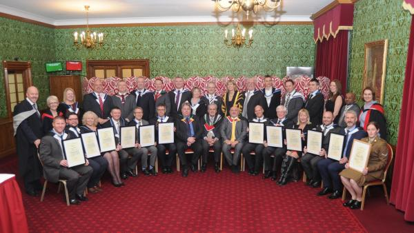 House of Lords New Fellows' Gowning 2016 - hi-res images