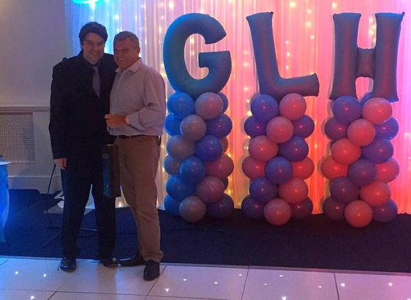Rob Scott GLH delivers Van Driver of the Year award 2018 to David Hosler 'The Hoss'