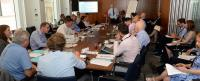 DfT - TfL – GLA & One hundred thousand vans at the table with a Curly Wurly finish