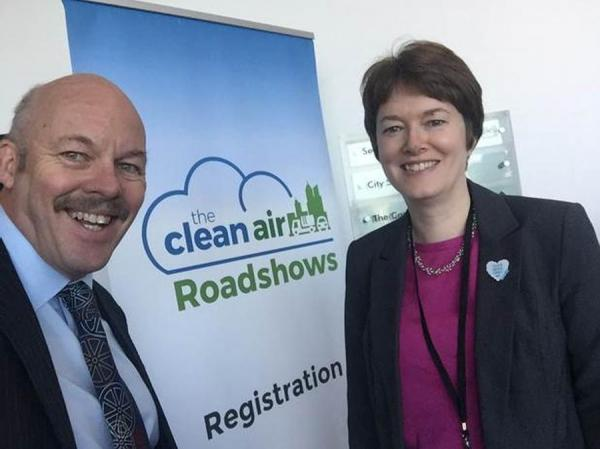 Greater Manchester's Air Quality Challenge for transport