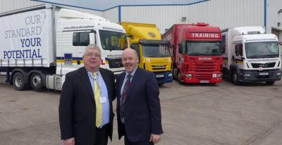 Carl Lomas takes a tour of the big vehicles with RTITB David Orell